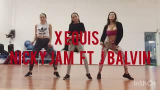 X EQUIS - NICKY JAM FT J BALVIN / ZUMBA CON NATH