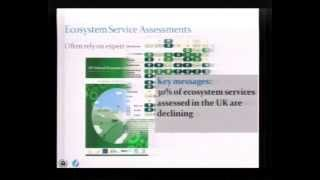 Biodiversity, ecosystem services and indicators -- M. Walpole, UNEP-WCMC