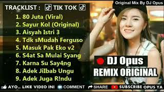 DJ 80 JUTA | SAYUR KOL | KARNA SU SAYANG🎵LAGU TIKTOK TERBARU REMIX ORIGINAL 2019