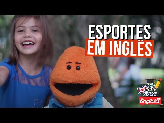 Esportes Olímpicos em Inglês ft. Ticolicos | Londres na Latinha #6