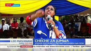 Cheche za Jumwa: Aisha Jumwa asema hatounga mkono mgombea wa ODM