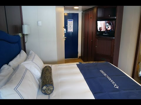 Cruise Ship Cabin Review - Oceania Sirena - A3 Concierge Cabin 7017