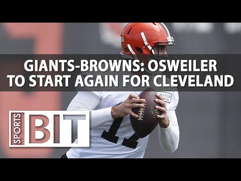New York Giants at Cleveland Browns | Sports BIT | NFL Picks