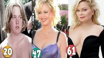 Melanie Griffith ♕ Transformation From 09 To 61 Years OLD
