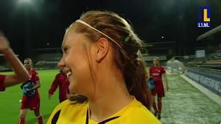 Eerste duel geschiedenis VVV dames met Lieke Martens