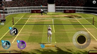 Tennis Slam Global Duel Arena (by 9M Interactive) Android Gameplay [HD]