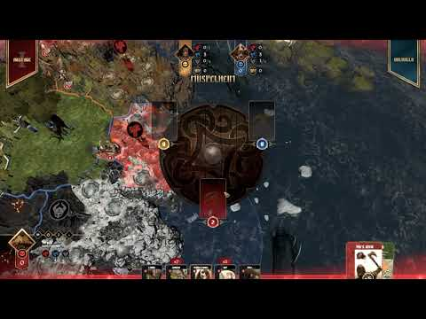 Blood Rage Digital Tutorial (Bugs out so it can't be completed) |
