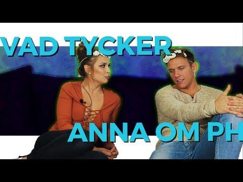 Vad tycker Anna om att Kristian ska vara med i PH?