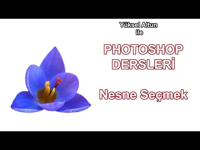 Photoshop Dersleri - Özne ile hızlı seçim yapmak / Photoshop Tutorials Making quick selections