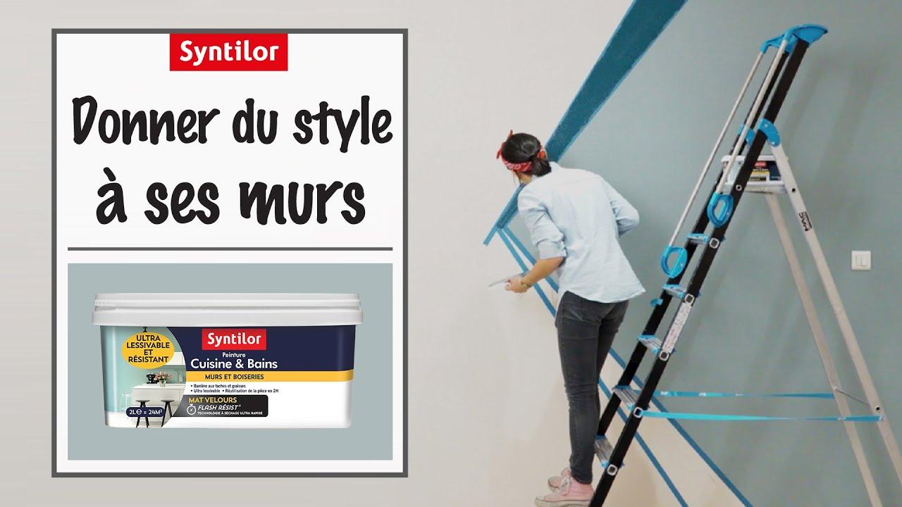Peinture Murale Cuisine Bains Comment Peindre Vos Murs En 1 Journée