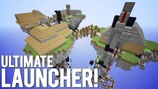 Minecraft: Top 10 Ultimate Slimeblock Launchers!