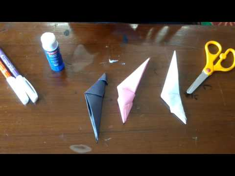 Paper art, how to make a paper dragon