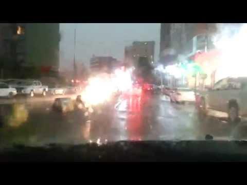 Heavy Rain at Duhok