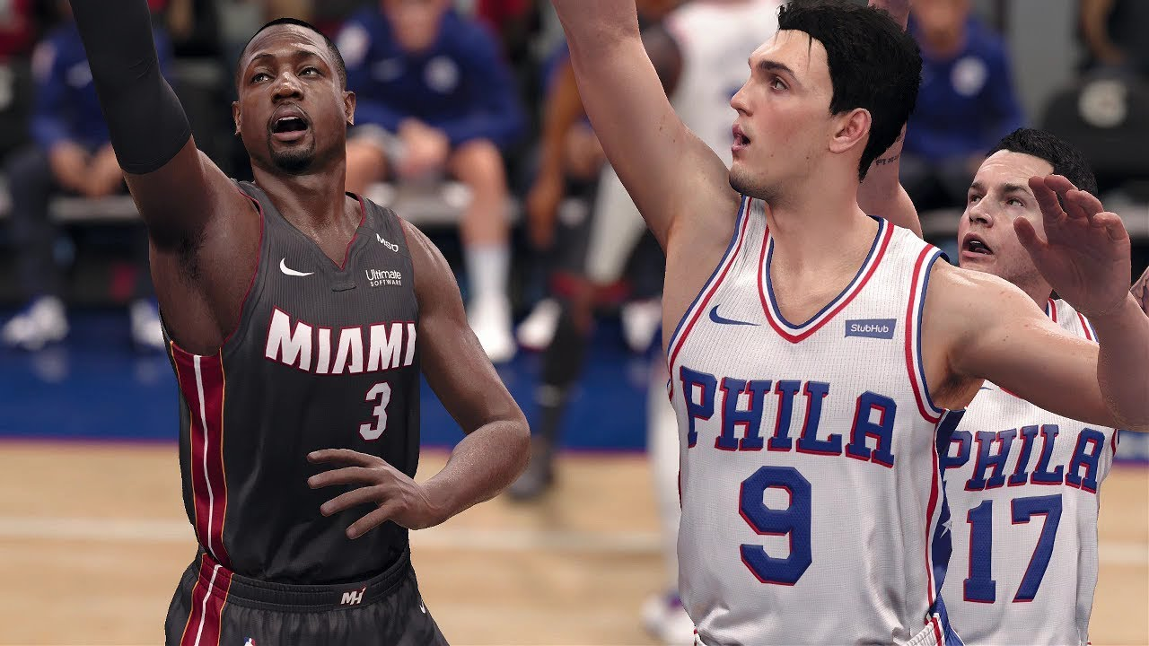 NBA LIVE Playoffs 2018 Miami Heat vs Philadelphia 76ers ...
