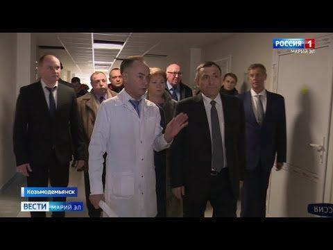 Глава Марий Эл с рабочей поездкой побывал в Козьмодемьянске