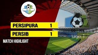 Pertandingan Persipura Jayapura Vs Persib Bandung yang Berakhir Imbang