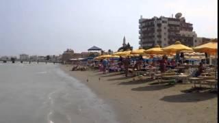 КИПР  Пляж в городе Ларнака    остров Кипр    Larnaca beach Cyprus(Готовы ли Вы отправиться в необычайное путешествие по самым прекрасным уголкам Мира? На этом канале собра..., 2015-04-10T10:49:47.000Z)