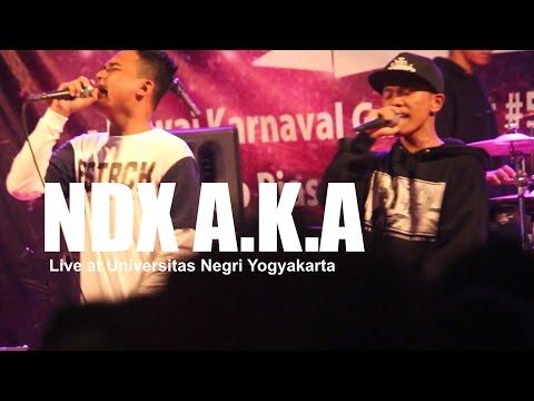 [HD] NDX A.K.A - Bojoku Ketikung (Live at UNY, October 2016)