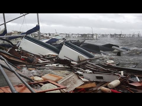 Coastal communities devastated by hurricane Michael