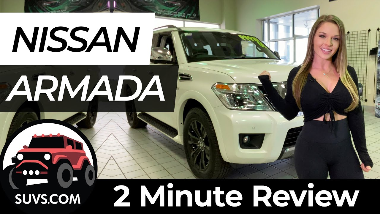 2020 Nissan Armada - 2 Minute Review - SUVS.com