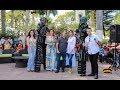 Bailando con los Robots Led en ¡Hola El Salvador! de canal 12