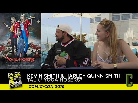 Watch: Kevin Smith Talks Up the Weirdness of 'Yoga Hosers' and Johnny Depp streaming vf