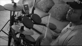 Stevie wonder hey love Drum play along