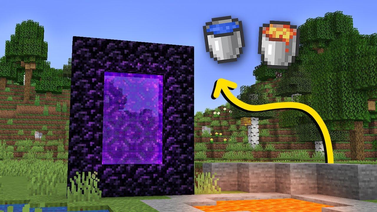 CEHENNEM PORTALI HAKKINDA BİLİNMEYEN 10 ŞEY!! | Minecraft