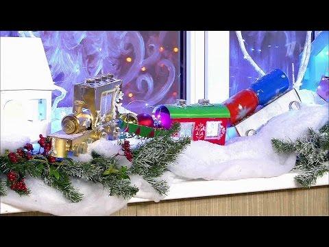 Жить здорово! Как украсить дом к Новому году. Советы дизайнера. (28.12.2015)