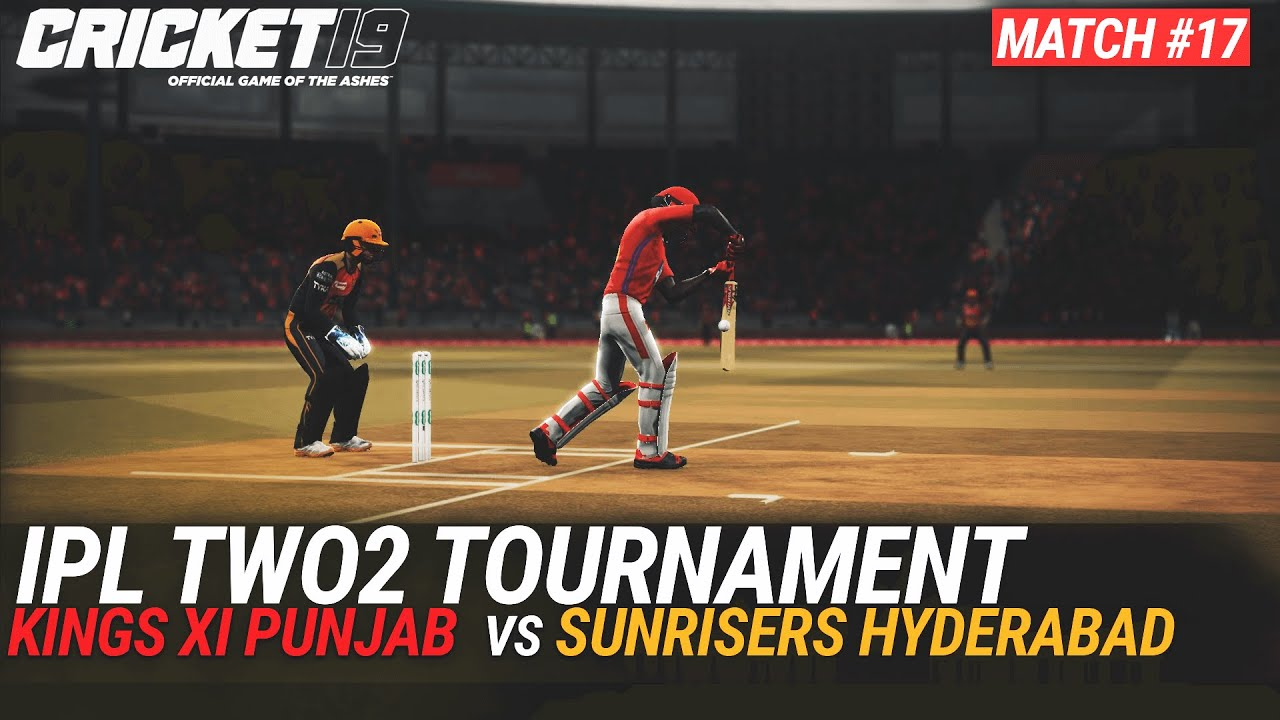 CRICKET 19 - IPL2020 TWO2 - MATCH #17 - KINGS XI PUNJAB vs SUNRISERS HYDERABAD