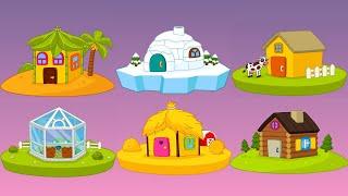 Let's Play • Build House • dla dzieci, Nauka narzędzi, kolorów, układanki, bajki, Gry dla dzieci