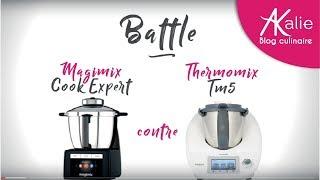 Comparaison Cook Expert de Magimix et Thermomix !