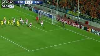 مباراة اياكس × ابويل نيقوسيا 1-1 [ ملخص كامل ] دوري ابطال أوروبا Full HD 1080p