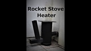 Home Made Rocket Stove Build. DIY