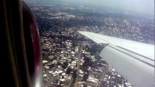 Aserca vuelo 970, aterrizaje definitivo en Valencia, Venezuela.