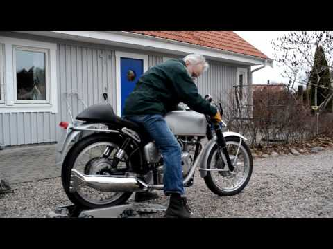 1967 Velocette Thruxton Revived After 40 Years In Boxes