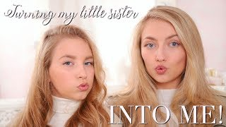 TURNING MY 12 YEAR OLD SISTER INTO ME! ~ Freddy My Love & Coco