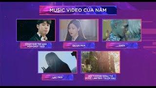 Top 5 Music Video Của Năm - Zing Music Awards 2017