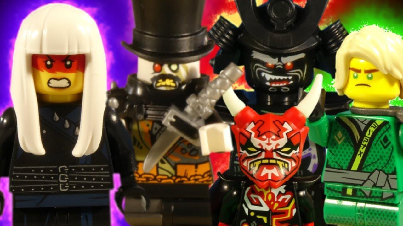 LEGO NINJAGO SONS OF GARMADON PART 1 - 6 COMPLETE SEASON
