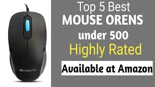 Top 5 Best mouse in India