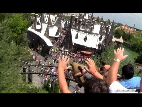 Flight of the Hippogriff Coaster (HD POV) - Wizarding World of Harry Potter - Islands of Adventure