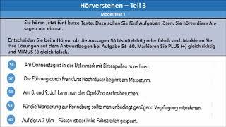 B2 Hörverstehen Telc