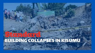 5 storey building under construction collapsed at midnight in Mamboleo near Coptic Church in Kisumu