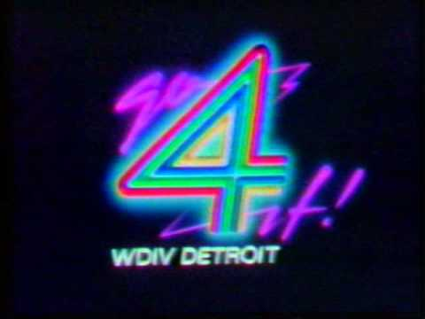 WXYZ (Detroit) Color Bars+ WDIV (Detroit) Color Bars and Sign-On - 1981!!