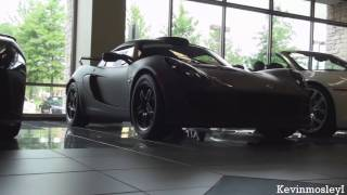 Lotus Exige Matte Black Final Edition  2011 Videos