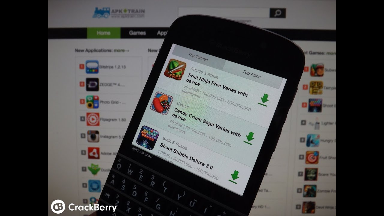 Installing Android apps on BlackBerry 10 just got easier - All