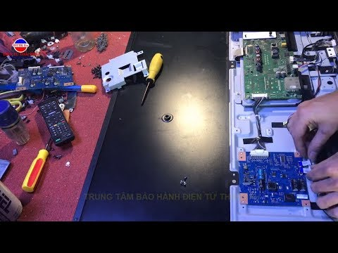 Hướng Dẫn Sửa Chữa Tivi Sony 43W800C Mất Nguồn - Sony TV Repair 43W800C Power Failure