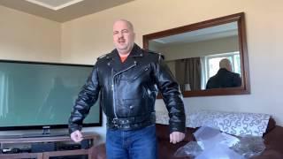 Xelement B7100 /'Classic/' Men/'s Black TOP GRADE Leather Motorcycle Biker Jacket