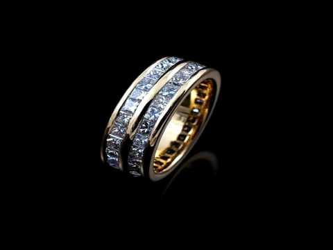 Unending Love With Diamond Eternity Rings
