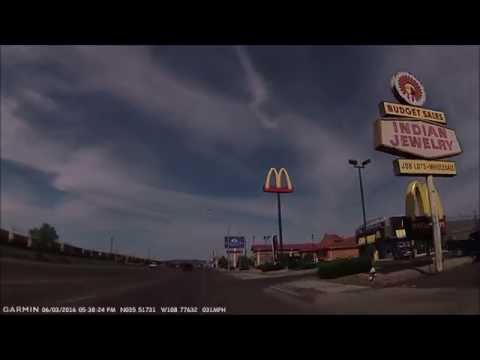 Four Corners #4: New Mexico state line on Interstate 40 / Route 66 to west Gallup 2016-06-03